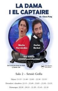 [:es]LA DAMA Y EL VAGABUNDO [:ca]LA DAMA I EL CAPTAIRE [:] @ Microteatre Barcelona