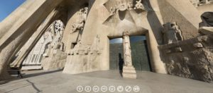 Ruta Virtual guiada a la Sagrada Familia