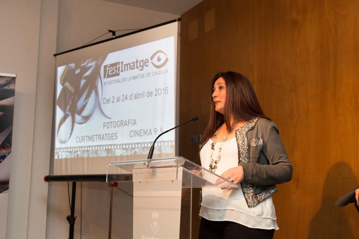 Presentación Inauguración Festimatge - Abril 2016 gabinete de prensa