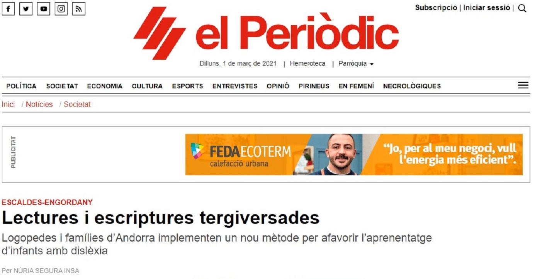 Glifing en el Periodico-24/07/2017 gabinete de prensa