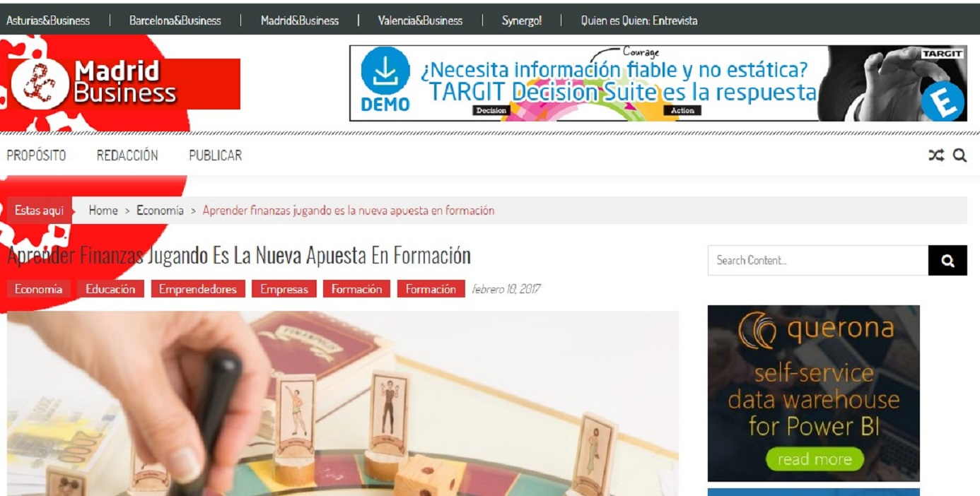 Finanpolis en Madrid and Business-10/02/2017 gabinete de prensa