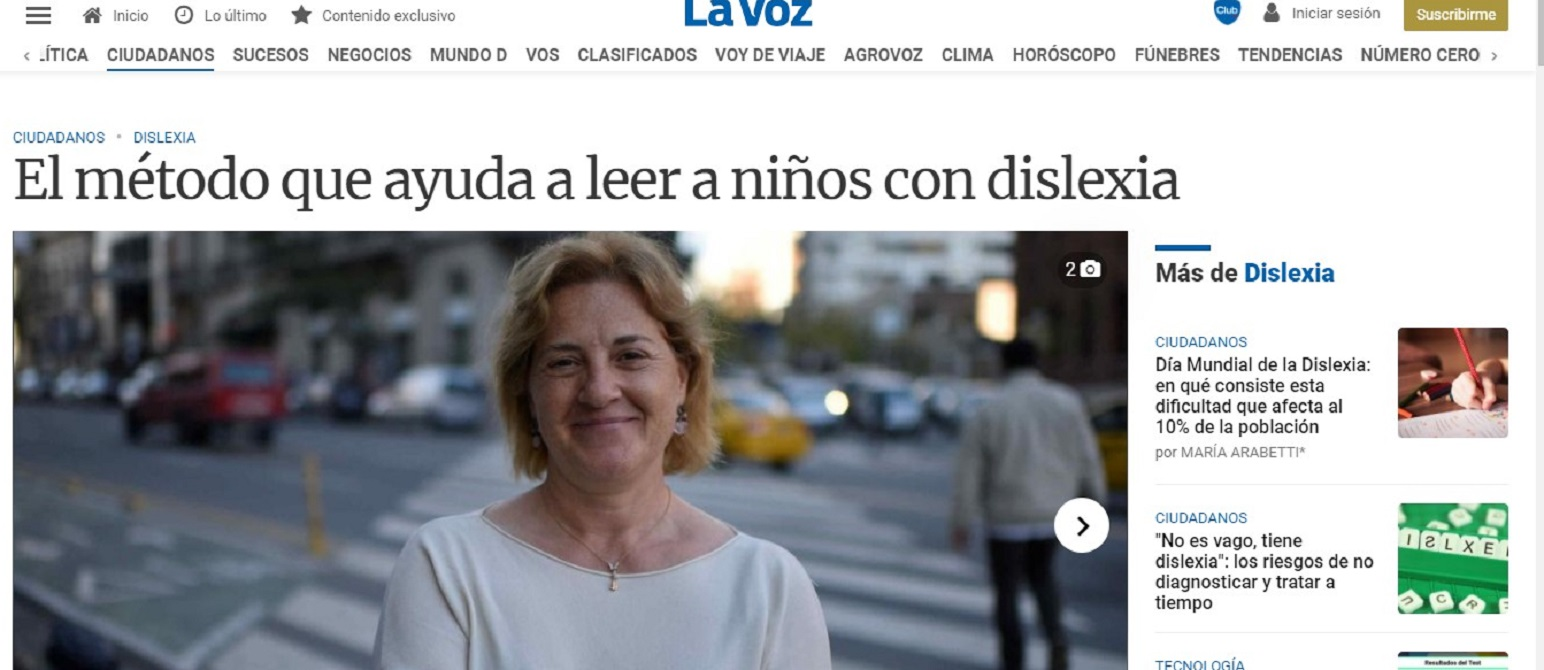 Glifing en el diario La Voz de Argentina -13/05/2019 gabinete de prensa