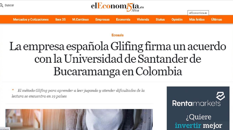 Glifing en El Economista - 25/03/2021 gabinete de prensa