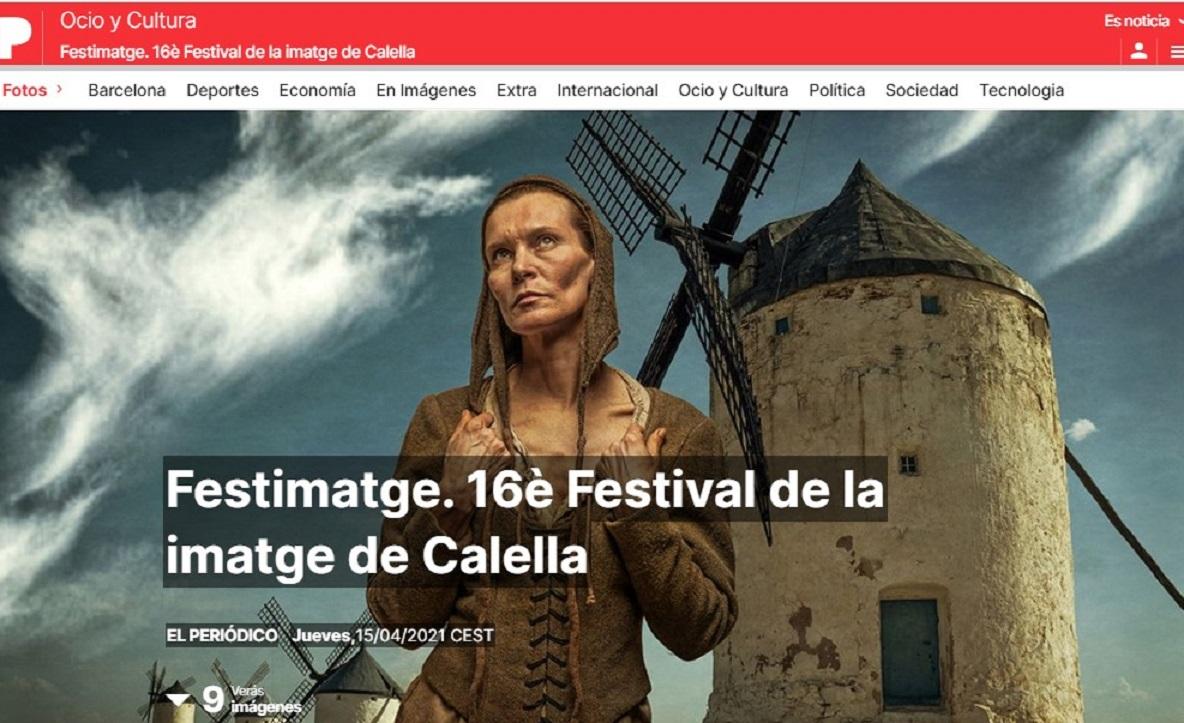 FESTIMATGE en El Periódico: una galería de fotos de las exposiciones -15/04/2021 gabinete de prensa