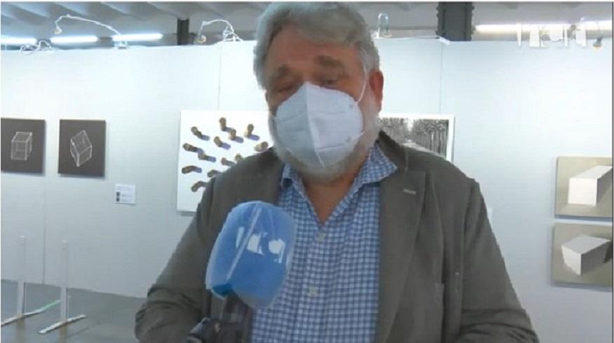 Les exposicions i presentacions del FESTIMATGE a Ràdio Calella TV-14/04/2021 gabinete de prensa