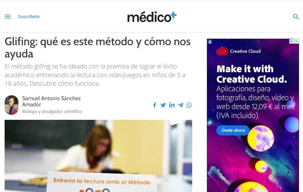 Glifing en Médicoplus - 22/04/2021 gabinete de prensa