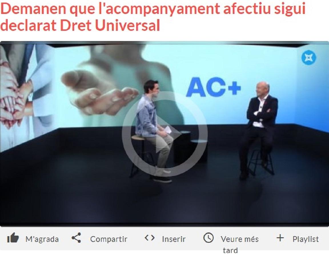 "Som Base i DA+ en el "" Connecticat de La Xarxa de Televisions Locals"" - 07/05/2021 gabinete de prensa"