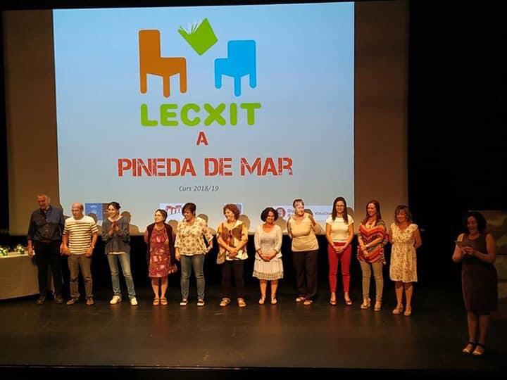 Presentación Clausura Lecxit Biblioteca Pineda – Junio 2019 gabinete de prensa