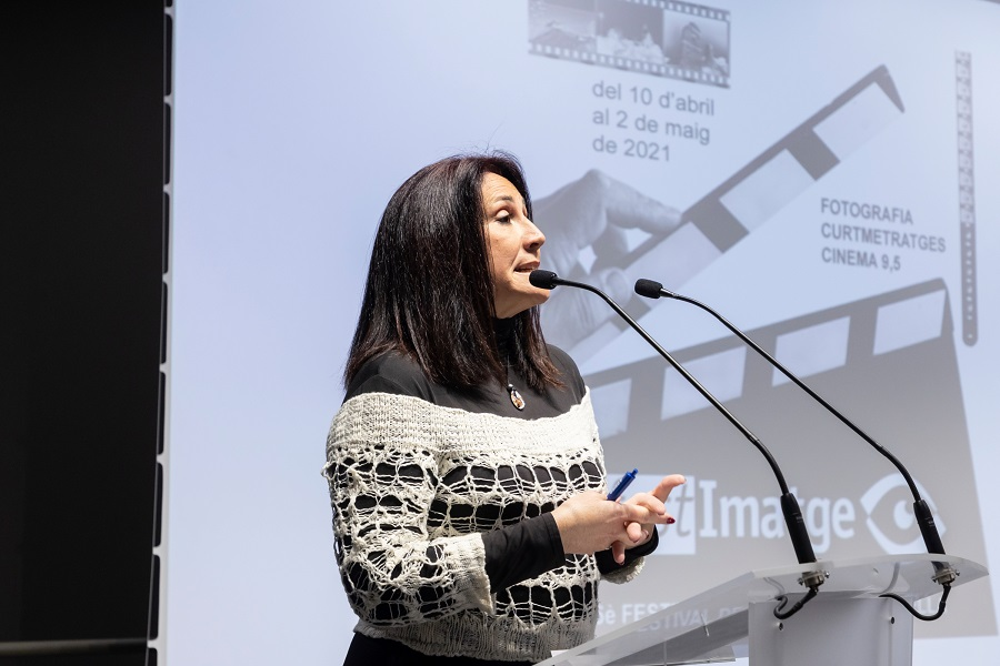 Presentació Acte Inaugural del Festimatge – Abril 2021 gabinete de prensa