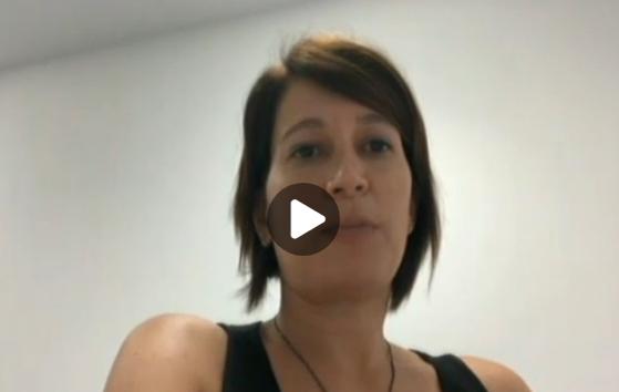 "Cristina Madaula, de Pregnantis al ""Té de Tot"" de TV Girona, al minut 21'50"" - 14/07/2020 gabinete de prensa"