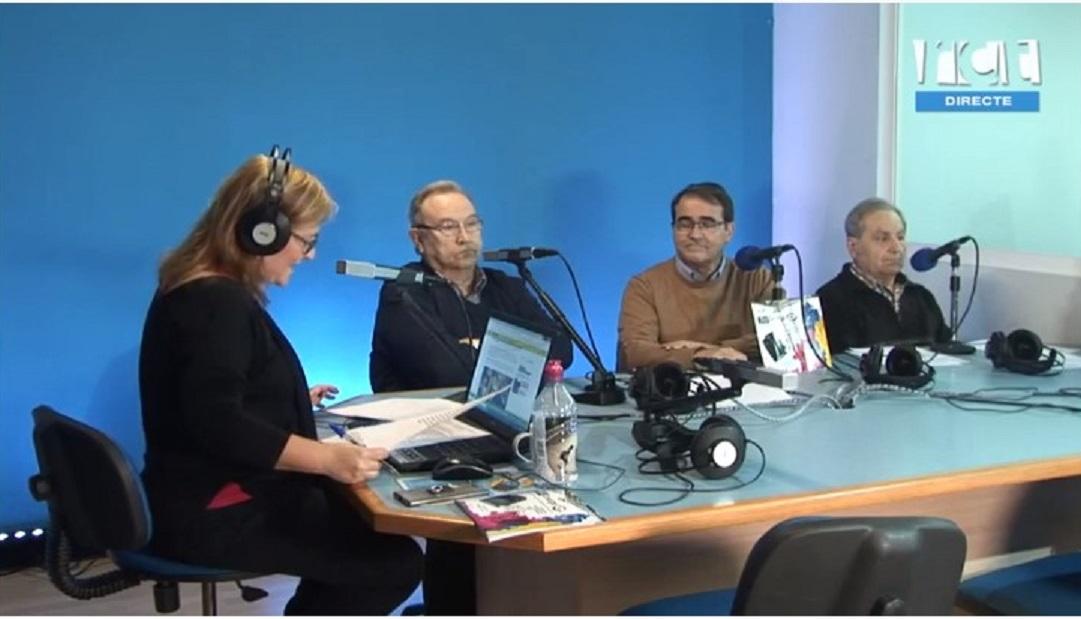 """Festimatge a Ràdio Tv Calella al programa """" la Ciutat """"- 05/04/2019 gabinete de prensa"""