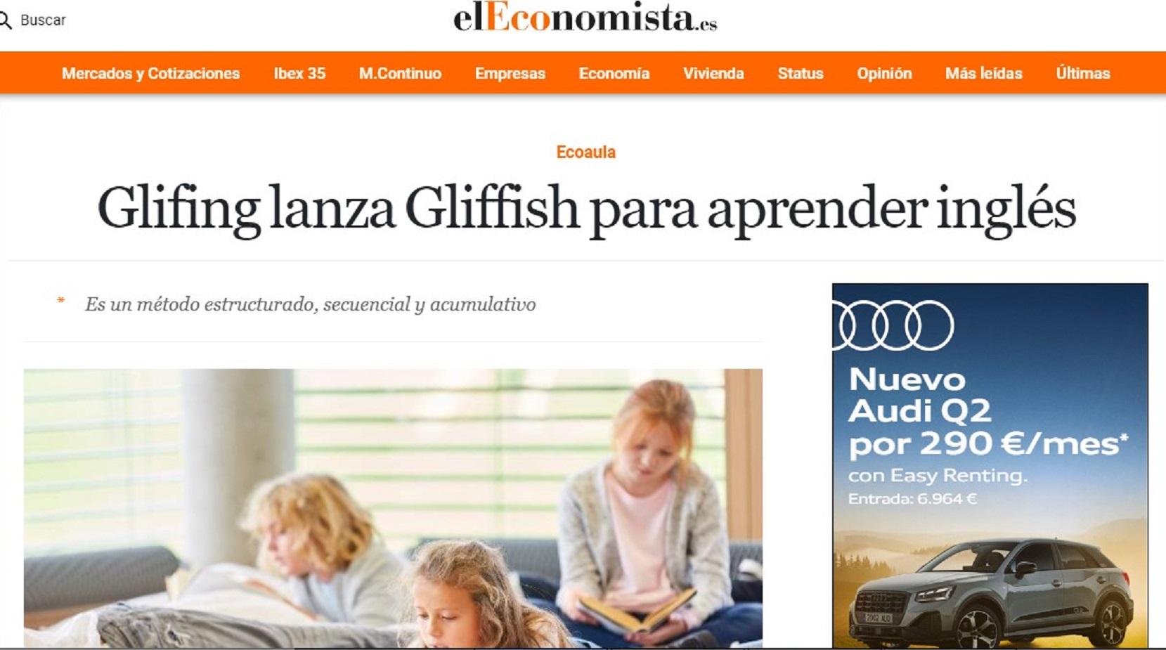 Glifing en El Economista - 03/07/2020 gabinete de prensa