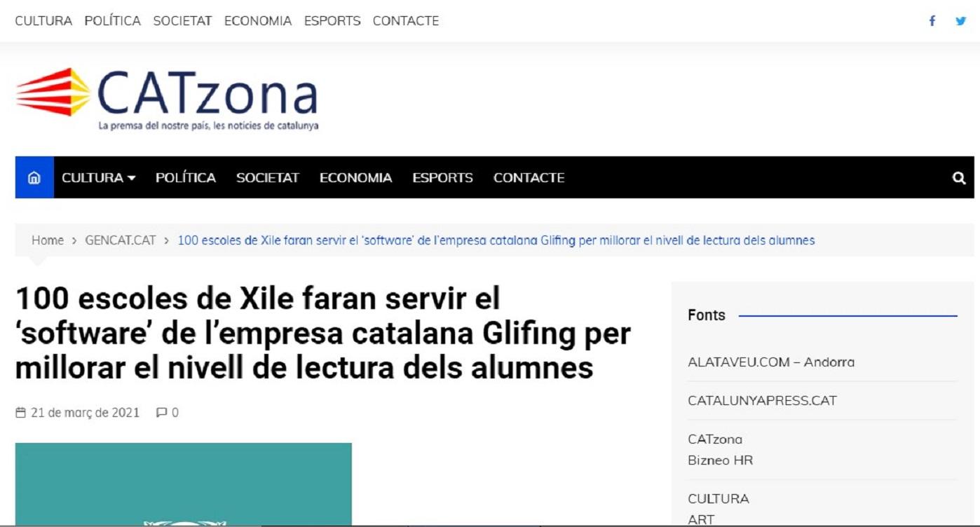 Glifing en Catzona- 21/03/2021 gabinete de prensa