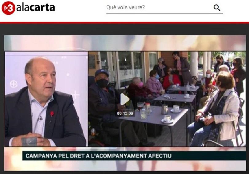 """Som Base en el programa """"Els matins"""" de TV3 - 16/06/2021 gabinete de prensa"""